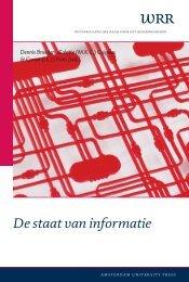 De staat van informatie - Wetenschappelijke Raad voor het ...