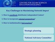 Key Challenges to Maximizing Network Impact Strategic planning ...