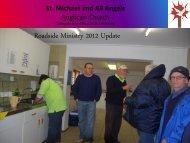 Roadside Ministry 2012 Update - stmichaelsedgemead.org.za