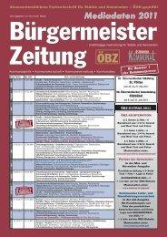 Mediadaten - Bürgermeister Zeitung