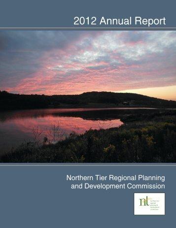 NTRPDC 2012 Annual Report - Northern Tier Regional Planning ...