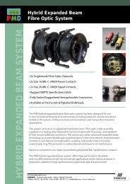 Hybrid Expanded Beam Fibre Optic System - VIDELCO