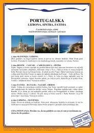 PORTUGALSKA - Condor Travel