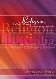 Religion Cultural Diversity andsafeguarding Australia