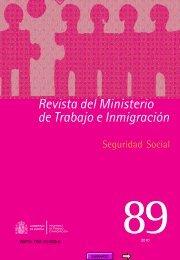 Revista del Ministerio de Trabajo e Inmigración - Eurocid