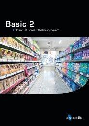 Basic 2 tilbehør - Expedit
