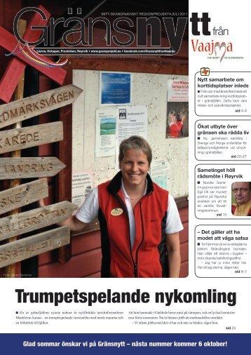 Gränsnytt 2011 nr 4.pdf - Strömsunds kommun