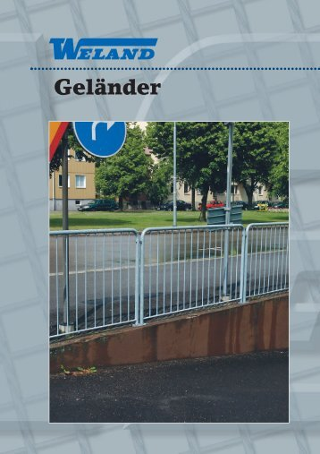 Modul- geländer - Weland GmbH