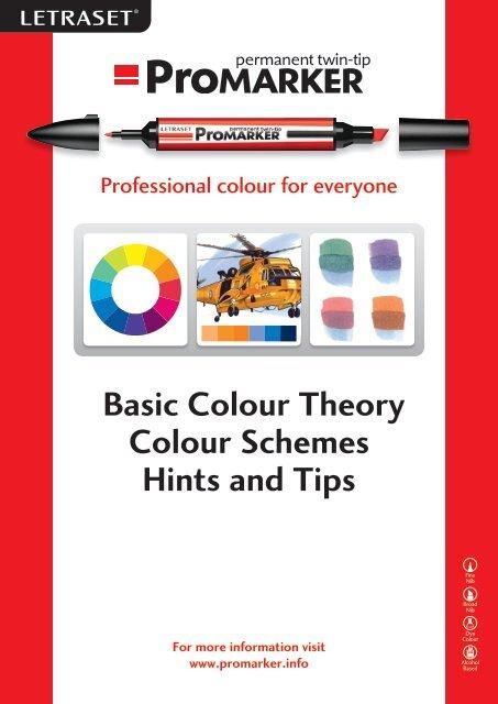 Letraset Promarker Ultra Fine 5 Pen Set Colour Accents