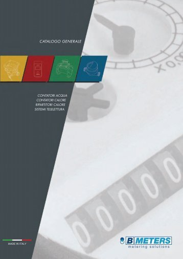 Catalogo BMeters - B Meters S.r.l.