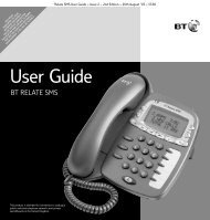 BT Relate SMS user guide - BT.com