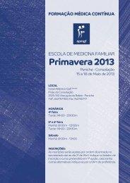 Primavera 2013 - Associação Portuguesa de Medicina Geral e ...