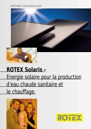 ROTEX Solaris - Confort Chauffage Climatisation