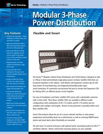 Modular 3-Phase Power Distribution - SysAdmin Help