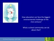What a school community can do about that?