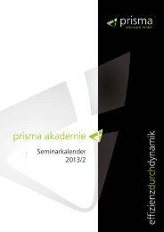 Seminarkalender 2013/2 - Prisma Informatik