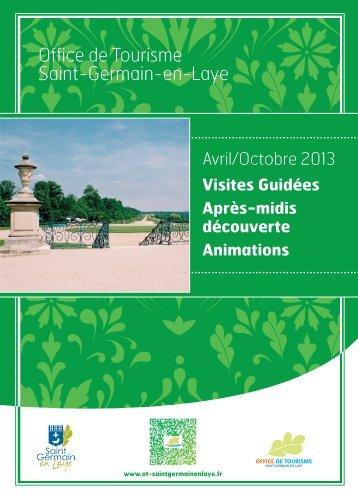 brochure 12 pages_avril-oct 2013.indd - Office de Tourisme de Saint ...