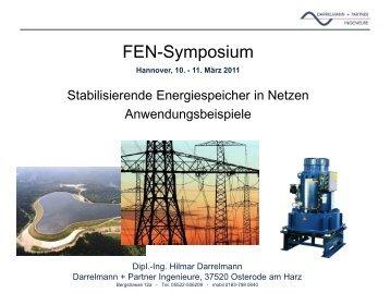 Stabilisierende Energiespeicher in Netzen Anwendungsbeispiele