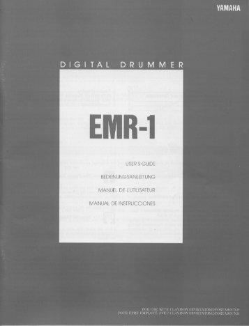 EMR-1 - Yamaha