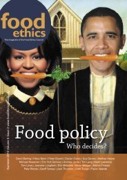 FEC summer magazine final.indd - Food Ethics Council