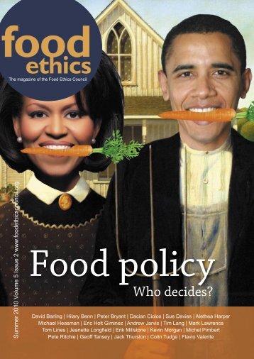 FEC summer magazine final.indd - Food Ethics Council