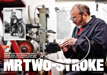 When it comes to two stroke tuning there is only one name - Fast Bikes