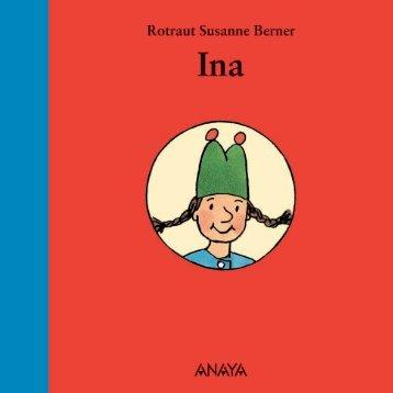 Ina (primeras páginas) - Anaya Infantil y Juvenil