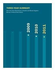 (TB) Annual Summary 2009-2011 - NYC.gov