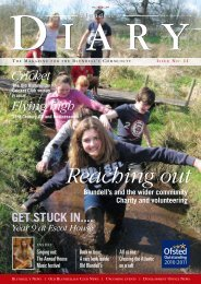 Issue 11 Autumn 2012 (5.2 MB) - Blundell's School