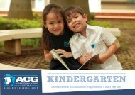 Kindergarten - The Academic Colleges Group