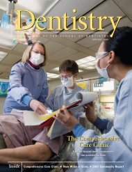 Care Clinic Care Clinic - School of Dentistry - University of Minnesota