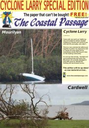 Cyclone Larry Special Edition - The Coastal Passage Home Page