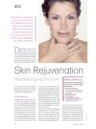 Skin Rejuvenation - Wellcomet
