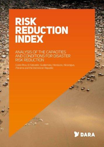 Risk Reduction Index (RRI) Report - DARA