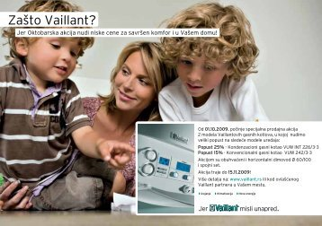 Zašto Vaillant?