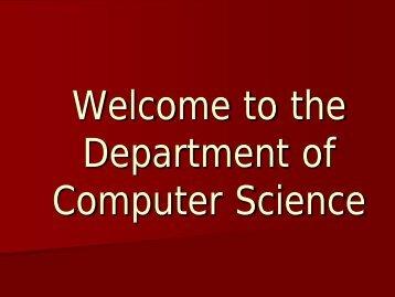 4. Computer Science Non-technical Electives.