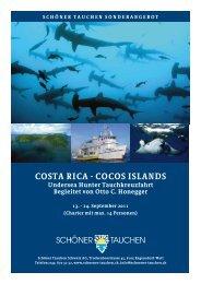COSTA RICA - COCOS ISLANDS Undersea Hunter Tauchkreuzfahrt ...