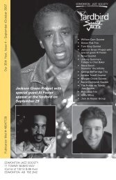 Jackson Green Project with special guest Al Foster ... - Yardbird Suite