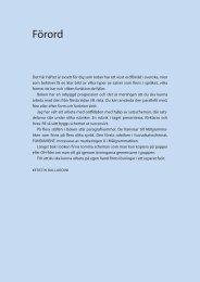 Form och funktion Ordföljd sid 3–11