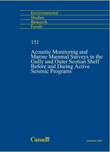 151 - Le Fonds pour l'étude de l'environnement