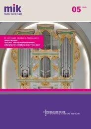 die weihnachts- geschichte - Musik in Kirchen