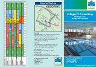 kidsgrove - Newcastle-under-Lyme Borough Council