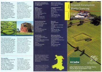English Maelor Historic Landscape Photographs - Clwyd-Powys ...