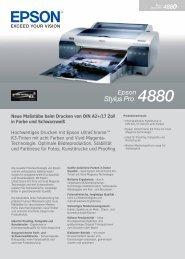 Epson Stylus Pro 4880 - H.mantel AG