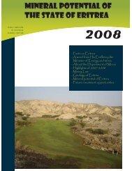 Mineral potential of Eritrea