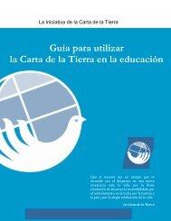 Guía para utilizar la Carta de la Tierra en la educación
