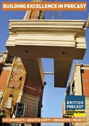 BUILDING EXCELLENCE IN PRECAST - British Precast