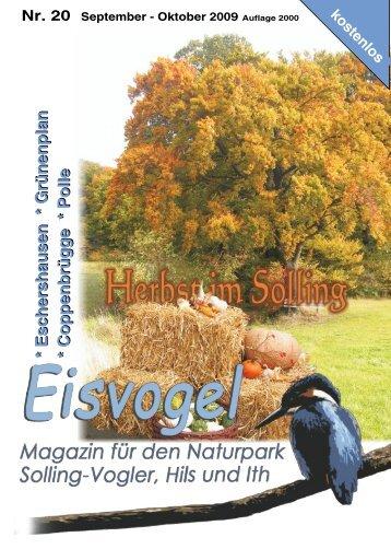 Eisvogel - 4. Jahrgang, Ausgabe 20, September-Oktober 2009