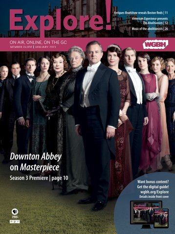 Downton Abbey onMasterpiece Season 3 Premiere - WGBH