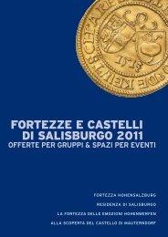 FORTEZZE E CASTELLI DI SALISBURGO 2011